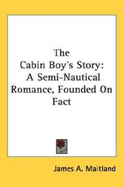 Cover of: The Cabin Boy's Story
