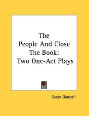 Cover of: The People And Close The Book