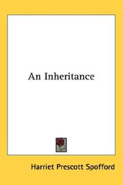 Cover of: An Inheritance