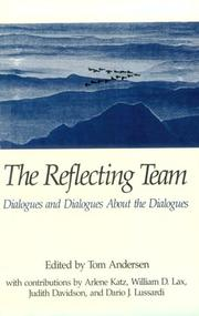 Cover of: The reflecting team