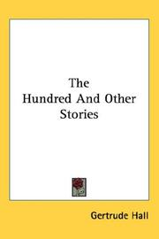 Cover of: The Hundred And Other Stories