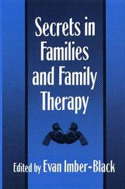 Cover of: Secrets in families and family therapy