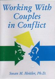 Cover of: Working With Couples in Conflict