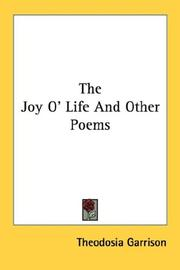 The Joy O Life And Other Poems