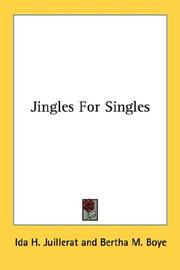 Cover of: Jingles For Singles | Ida H. Juillerat