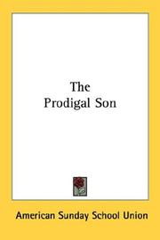 Cover of: The Prodigal Son