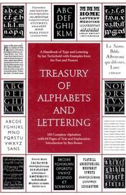 Cover of: Treasury of alphabets and lettering