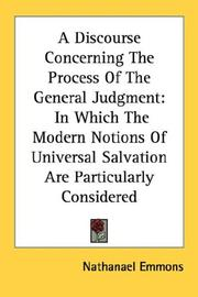 Cover of: A Discourse Concerning The Process Of The General Judgment