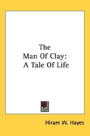 Cover of: The Man Of Clay
