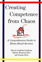 Cover of: Creating competence from chaos