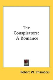 Cover of: The conspirators: A Romance