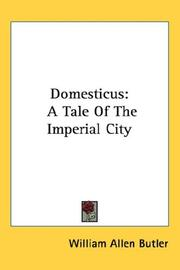 Cover of: Domesticus