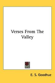 Cover of: Verses From The Valley