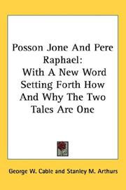 Cover of: Posson Jone And Pere Raphael