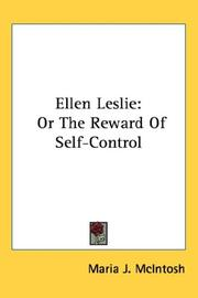 Cover of: Ellen Leslie