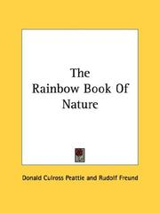 Cover of: The rainbow book of nature