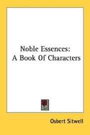 Cover of: Noble essences