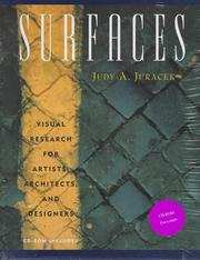 Cover of: Surfaces  | Judy A. Juracek