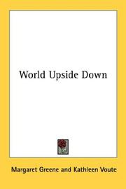 Cover of: World upside down