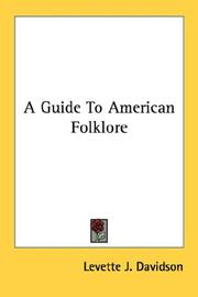 Cover of: A Guide To American Folklore