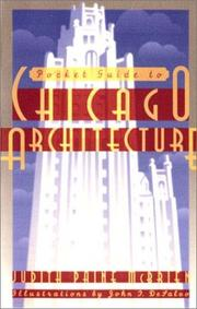 Cover of: Pocket Guide to Chicago Architecture
