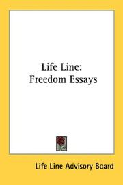 Cover of: Life Line | Life Line Advisory Board