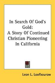 Cover of: In Search Of God