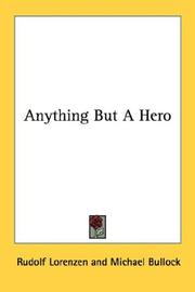 Cover of: Anything But A Hero