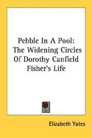 Cover of: Pebble In A Pool
