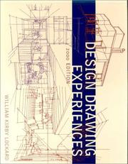 Cover of: Design Drawing Experiences