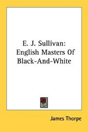 Cover of: E. J. Sullivan | James Thorpe