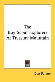 Cover of: The Boy Scout Explorers at Treasure Mountain