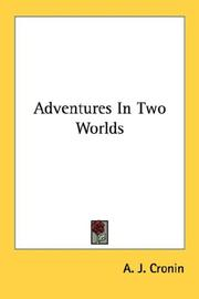 Cover of: Adventures in two worlds