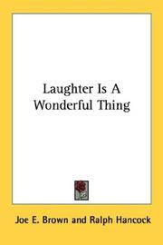 Cover of: Laughter Is A Wonderful Thing