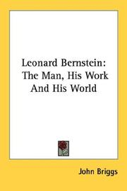 Cover of: Leonard Bernstein