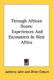 Cover of: Through African doors