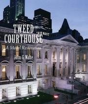 Cover of: Tweed Courthouse | John G. Waite