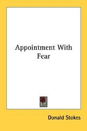 Cover of: Appointment With Fear