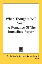 Cover of: When Thoughts Will Soar
