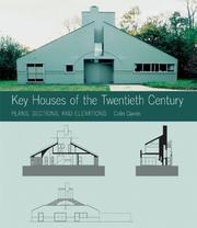 Cover of: Key Houses of the Twentieth Century | Colin Davies