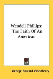 Cover of: Wendell Phillips