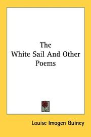 Cover of: The White Sail And Other Poems