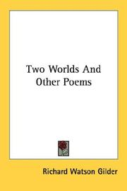 Cover of: Two Worlds And Other Poems