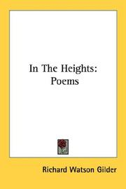 "Cover of: ""In the heights"""