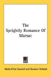 Cover of: The Sprightly Romance Of Marsac | Molly Elliot Seawell
