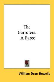 Cover of: The garroters: farce
