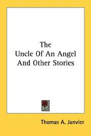 Cover of: The Uncle Of An Angel And Other Stories