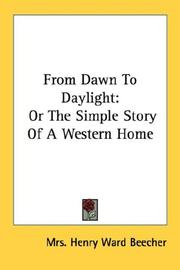 Cover of: From Dawn To Daylight