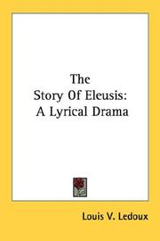 Cover of: The story of Eleusis