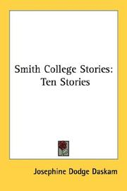 Cover of: Smith College Stories